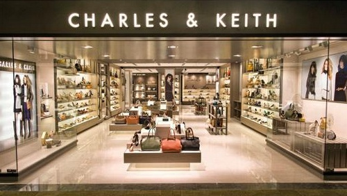 Charles & Keith shoe store Changi Airport Singapore