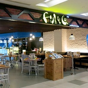 Fish & Co. seafood restaurant NEX shopping mall Singapore
