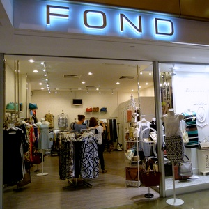 FOND clothing store Novena Square Singapore