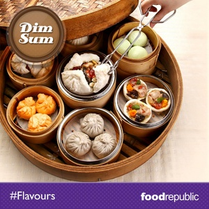 Food Republic dim sum Nex Serangoon shopping mall Singapore