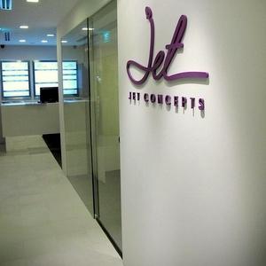 Jet Concepts beauty salon Raffles City Singapore