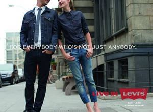 Levi's jeans ad Singapore