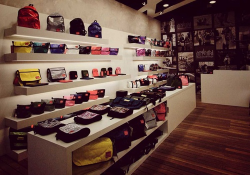 Manhattan Portage store 313@Somerset Singapore