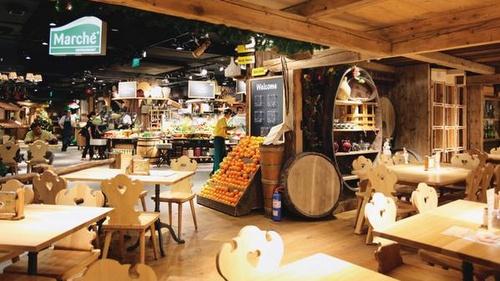 Marché Mövenpick Restaurant & Bakery 313@Somerset Singapore