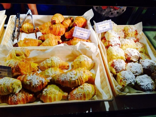 Dinata Portuguese pastries in Singapore.