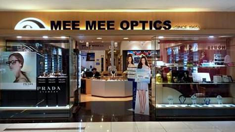 Mee Mee Optics at Butik Timah Plaza mall in Singapore.