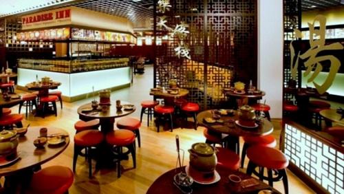 Paradise Inn Chinese restaurant in Singapore.