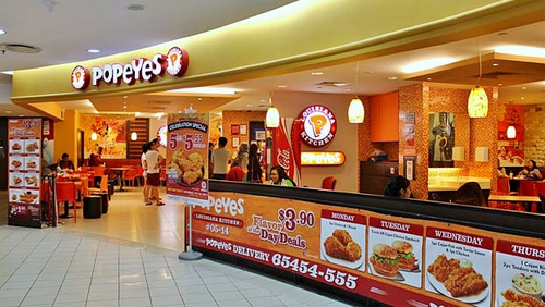 Popeyes Louisiana Kitchen popeyes louisiana kitchen chicken restaurants in singapore - shopsinsg