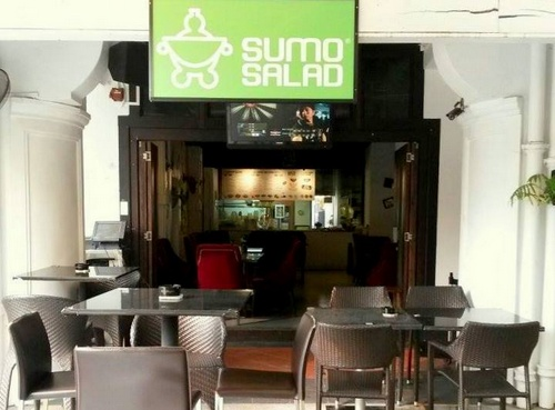 Sumo Salad restaurant at Capital Square 3 in Singapore.