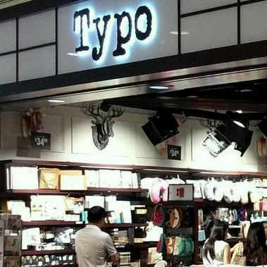 Typo stationery store at AMKhub in Singapore.