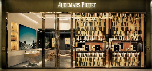 Audemars Piguet watch store Marina Bay Sands Singapore.