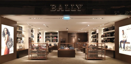 Bally store Resorts World Sentosa Singapore.