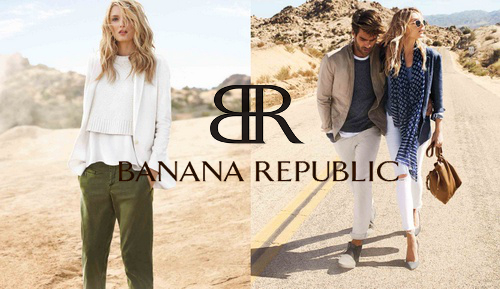 Banana Republic summer clothing for men and women.