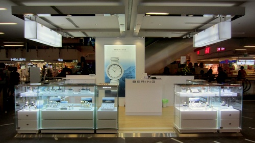 Bering watch and jewellery store NEX Singapore.