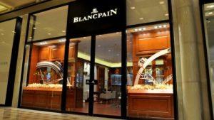 Blancpain watch store Marina Bay Sands Singapore.