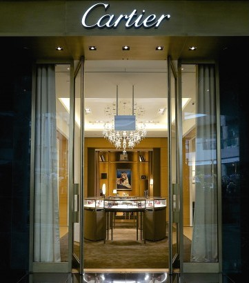 Cartier store Marina Bay Sands Singapore.