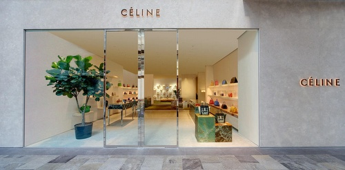 Céline store Marina Bay Sands Singapore.