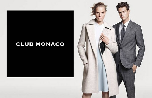 Club Monaco clothing.