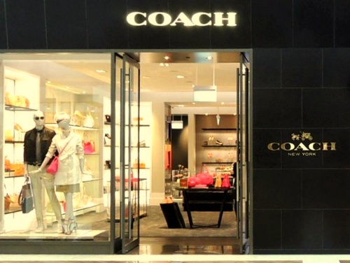 Coach store at The Shoppes at Marina Bay Sands in Singapore.