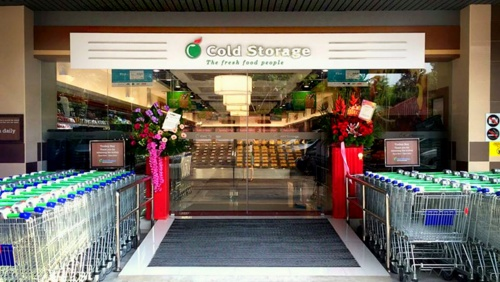 Cold Storage supermarket at Sime Darby in Singapore.