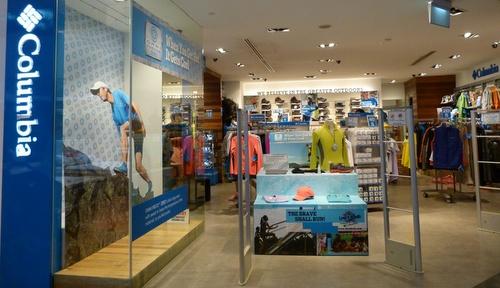 Columbia Sportswear Company store Velocity@Novena Square Singapore.