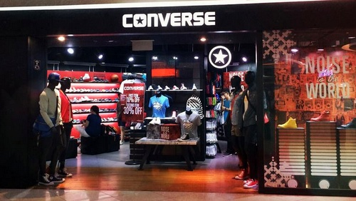Converse store at Tampines mall in Singapore.