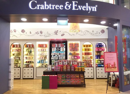 Crabtree & Evelyn store Singapore.