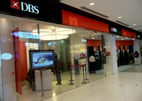 DBS Bank Junction 8 Shopping Centre Singapore.