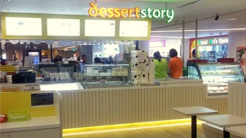 dessertstory dessert shop at Sun Plaza in Singapore.