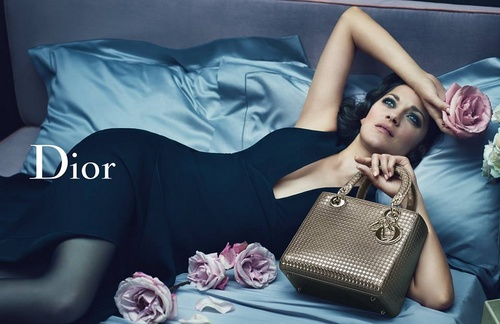 Dior Lady Dior advertising campaign.