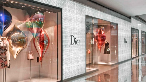 Dior store Marina Bay Sands Singapore.