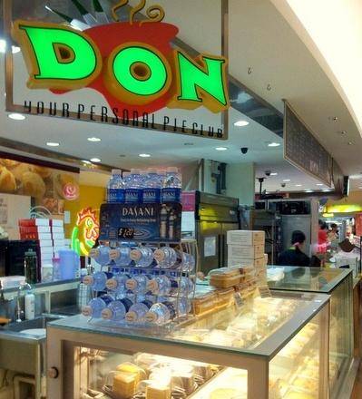 Don Your Personal Pie Club shop VivoCity Singapore.