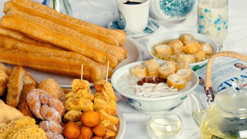 Dough Culture dough fritters and You Tiao snacks.