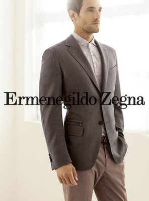 Ermenegildo Zegna casual luxury menswear.