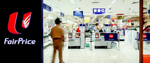 FairPrice supermarket in Singapore.