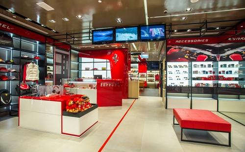 Ferrari Store Marina Bay Sands Singapore.