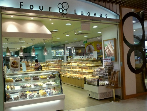 Four Leaves bakery Tampines Mall in Singapore.