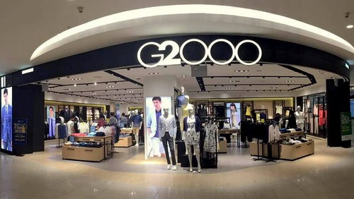 G2000 clothing store at VivoCity mall in Singapore.