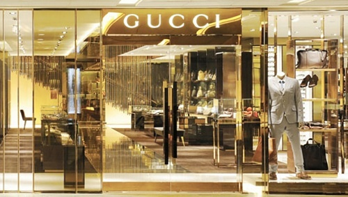 Gucci Flagship Store Paragon Singapore.