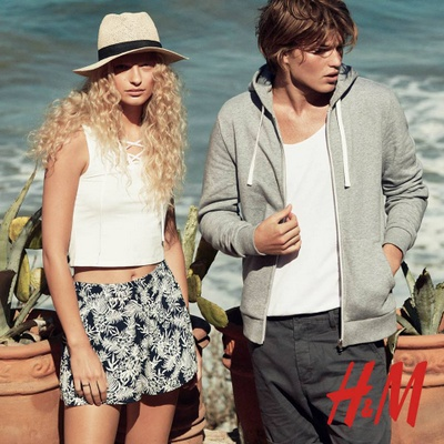 H&M women's and men's clothing.