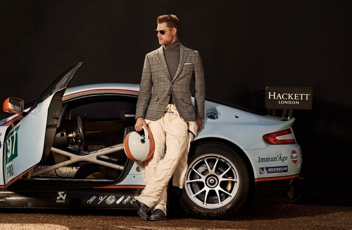 Hackett menswear Aston Martin Racing.