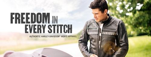 Harley-Davison MotorClothes men's apparel - Freedom in Every Stitch.