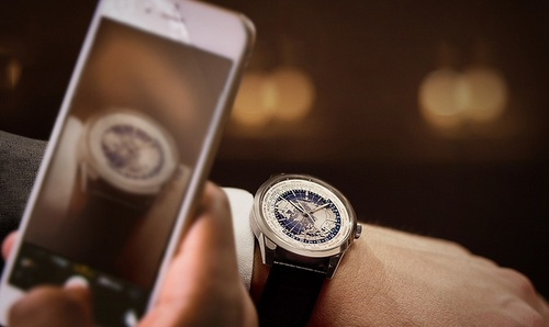 Jaeger-LeCoultre Geophysic watch.
