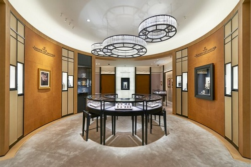 Jaeger-LeCoultre watch shop Marina Bay Sands Singapore.