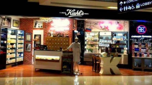 Kiehl's beauty store at ION Orchard mall in Singapore.