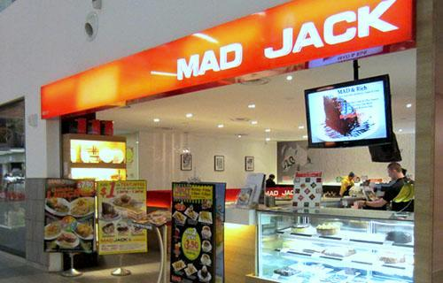 Mad Jack Cafe restaurant at NEX shopping centre in Singapore.