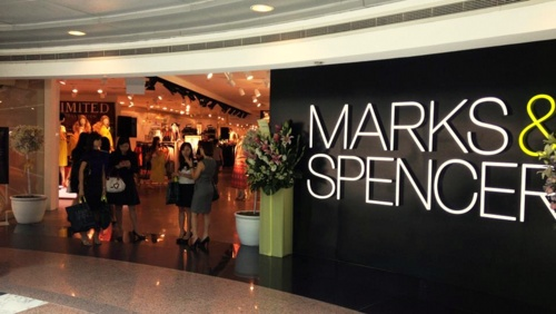 Marks & Spencer department store at Wheelock Place in Singapore.