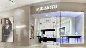Mikimoto jewellery store ION Orchard Singapore.