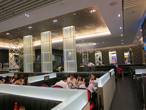 MK Restaurants Thai restaurant at 313@Somerset mall in Singapore.
