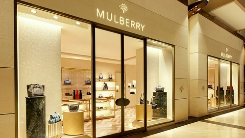 Mulberry store Marina Bay Sands Singapore.